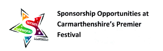 Sponsorship opportunities for Llandeilo Festival of Senses