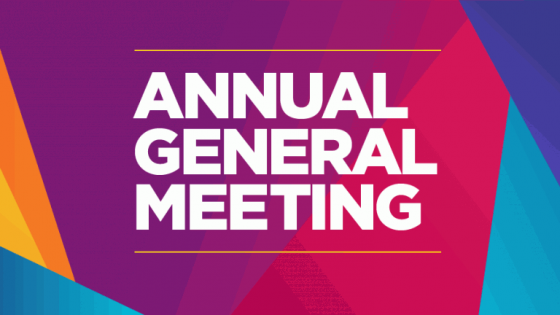 Notice of our AGM