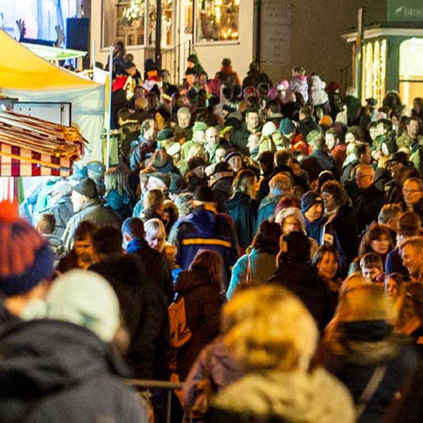A festival of discounts, raffles, nibbles and prosecco